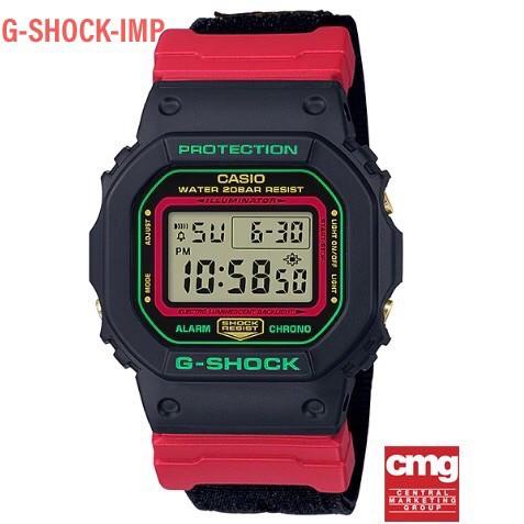 นาฬิกา Casio G-SHOCK รุ่น DW-5600THC-1DR ของแท้ ประกันศูนย์ CMG 1 ปี