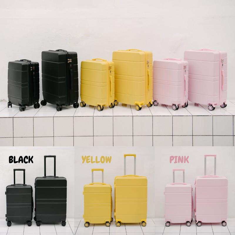 กระเป๋าเดินทาง Tpartner [ใหม่] กระเป๋าเดินทาง ขนาด 20 กับ 24นิ้ว กระเป๋าเดินทางล้อลาก รุ่น Lite Series เฟรมซิป วัสดุ A