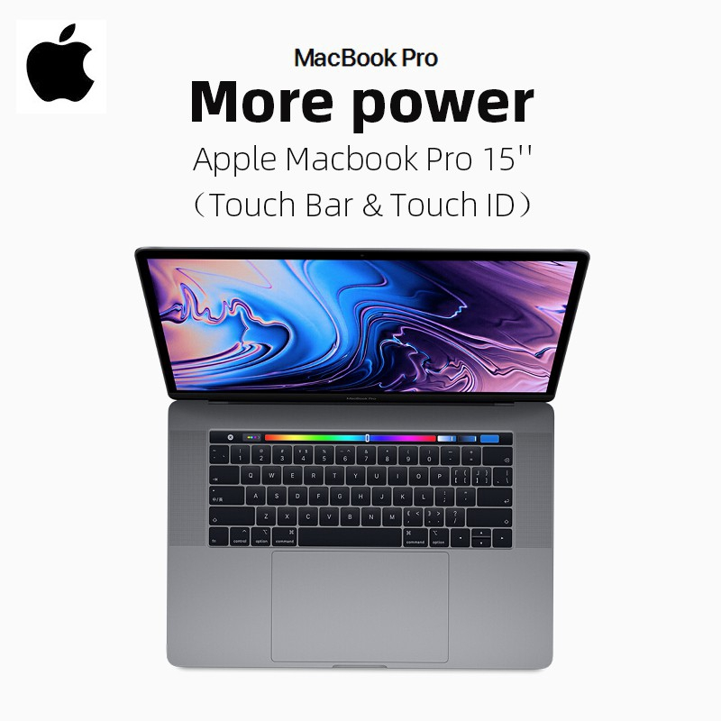 Apple MacBook Pro 15 ' ' Touch Bar & Touch ID Grey / Silver 2018