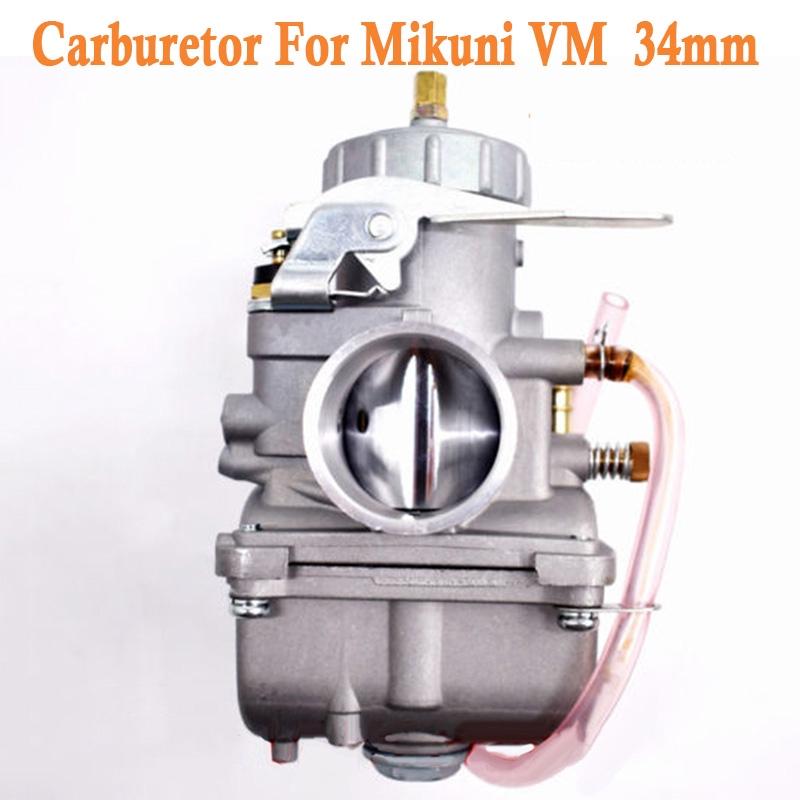 คาร์บูเรเตอร์ 34 มม . สําหรับ Mikuni Vm รอบสไลด์ Vm 34-168 42-6015 Vm 34 Sc H
