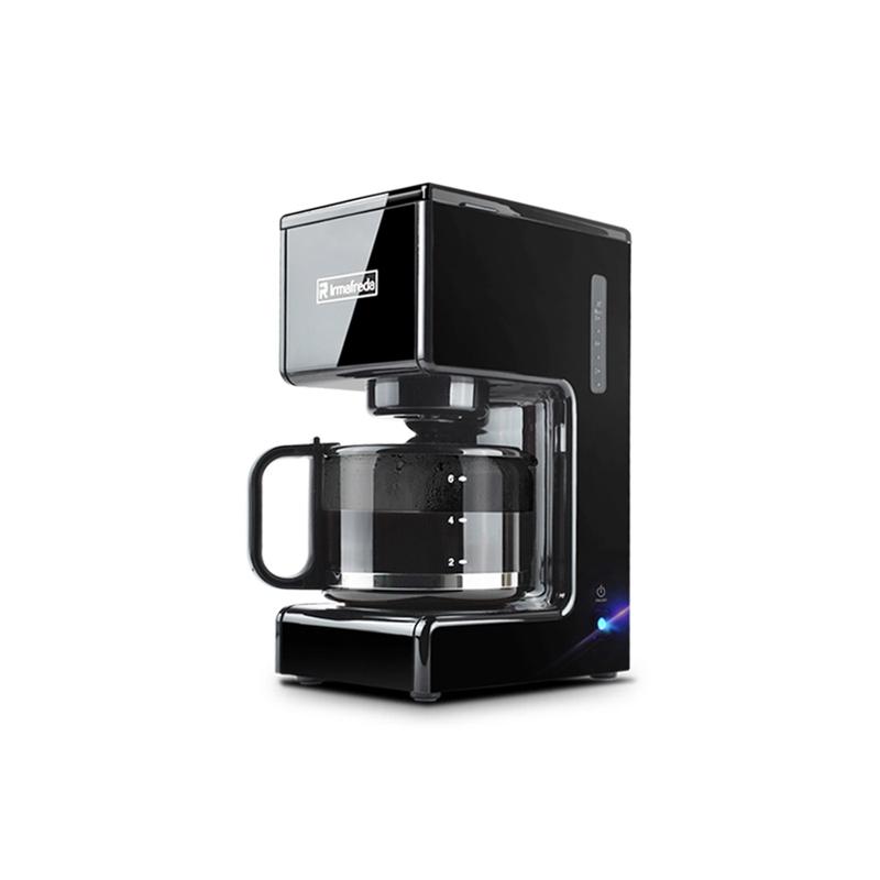 เครื่องทำกาแฟเครื่องชงกาแฟ Alfide อเมริกันขนาดเล็กในบ้านขนาดเล็กกึ่งอัตโนมัติเครื่องชงกาแฟสดเครื่องชงชา
