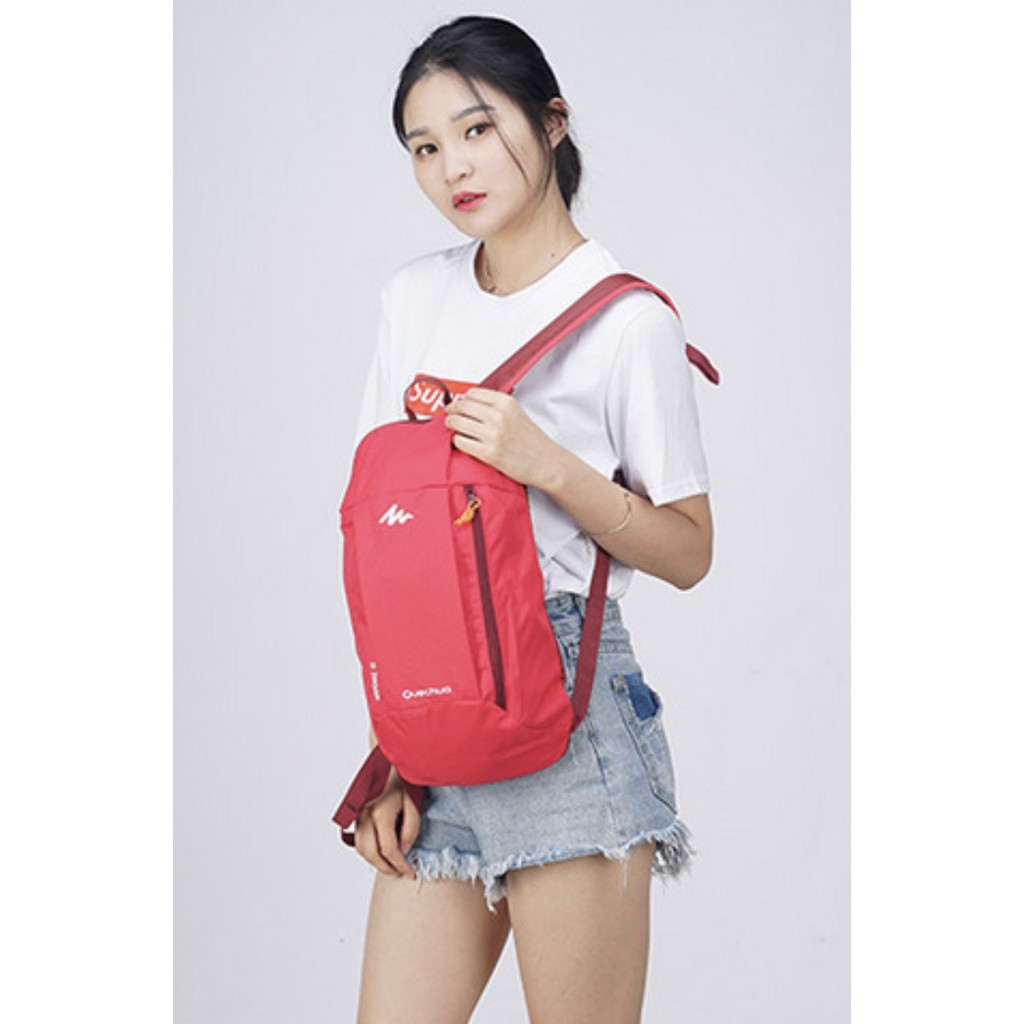 ?SALE ?【พร้อมส่ง】miss bag fashion กระเป๋าเป้สะพายหลัง กระเป๋าออกกำลังกาย รุ่น qing-beibao-D533
