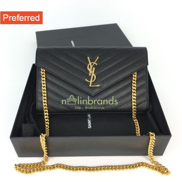 """ราคาถูกที่สุดใน Shopee ของแท้ 100% Ysl woc9"""" ดำอะไหล่ทอง Y2019"""