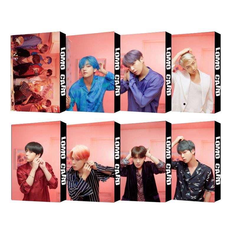 Review อัลบั้มการ์ด KPOP BTS Map of Persona LOMO Card PhotoCards