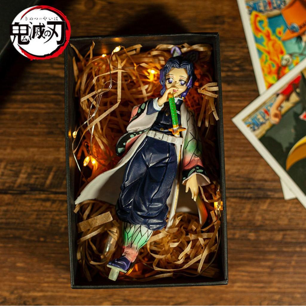鬼滅の刃[Demon Slayer] Anime Figure [Kochou Shinobu] ตุ๊กตาตัวการ์ตูนตุ๊กตา