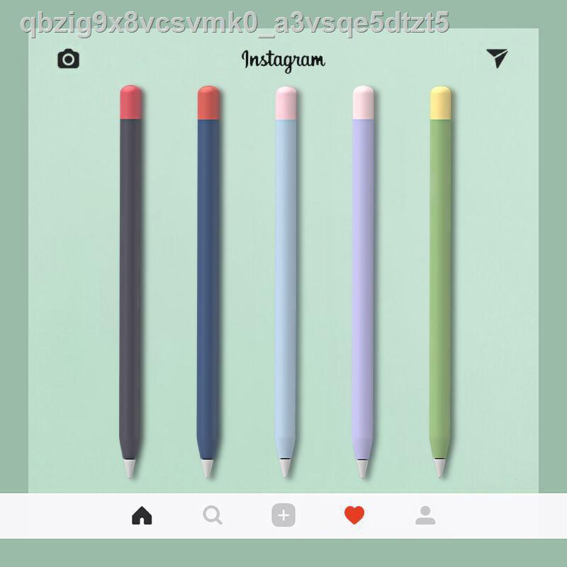 【เครื่องเขียน】▩▲PZOZ เหมาะสำหรับเคสปากกาดินสอ Apple รุ่นที่ 1 2 ฝาครอบป้องกัน iPencil applepencil ซิลิโคนบางเฉียบแม่