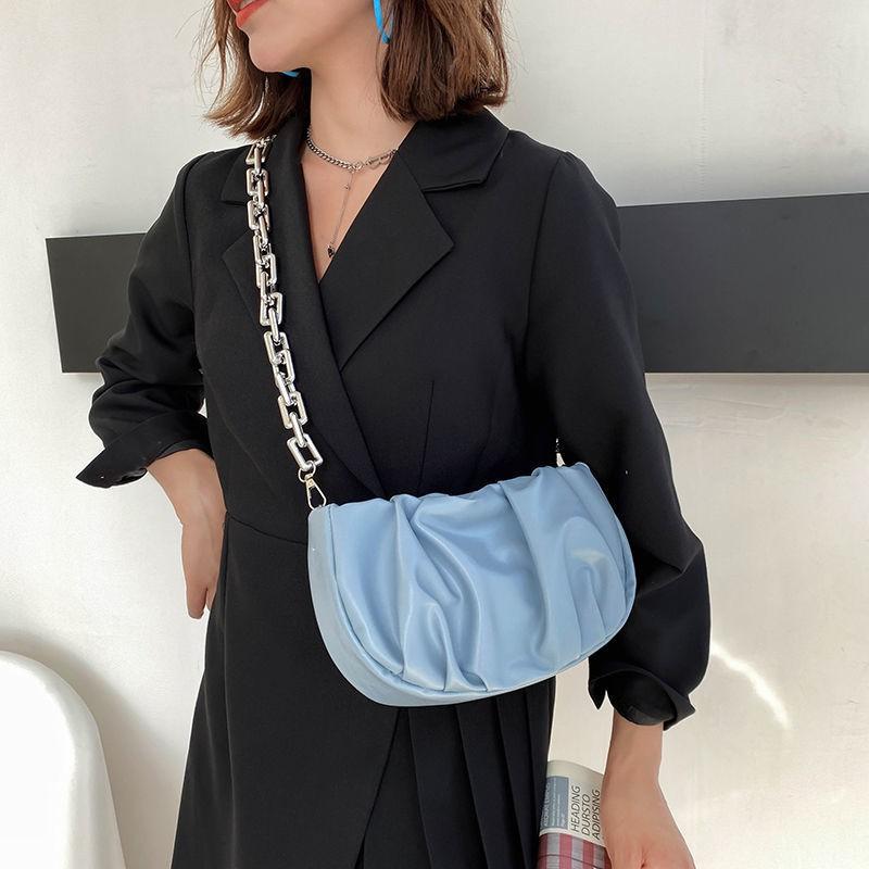 กระเป๋า?รุ่นใหม่ เท่สุดๆฉุดไม่อยู่?กระเป๋าสะพายข้างผู้หญิงแฟชั่นกระเป๋าจีบป่าคุณภาพสูงหญิง2021ใหม่การออกแบบขนาดเล็กกระเป