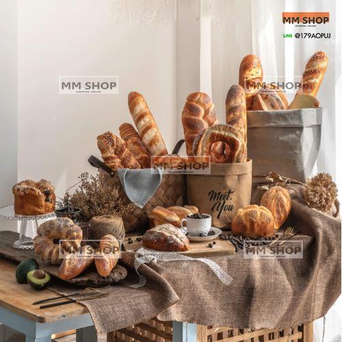 ขนมปังเทียม ขนมปังปลอม ขนมปังตกแต่ง ของตกแต่งร้านอาหาร