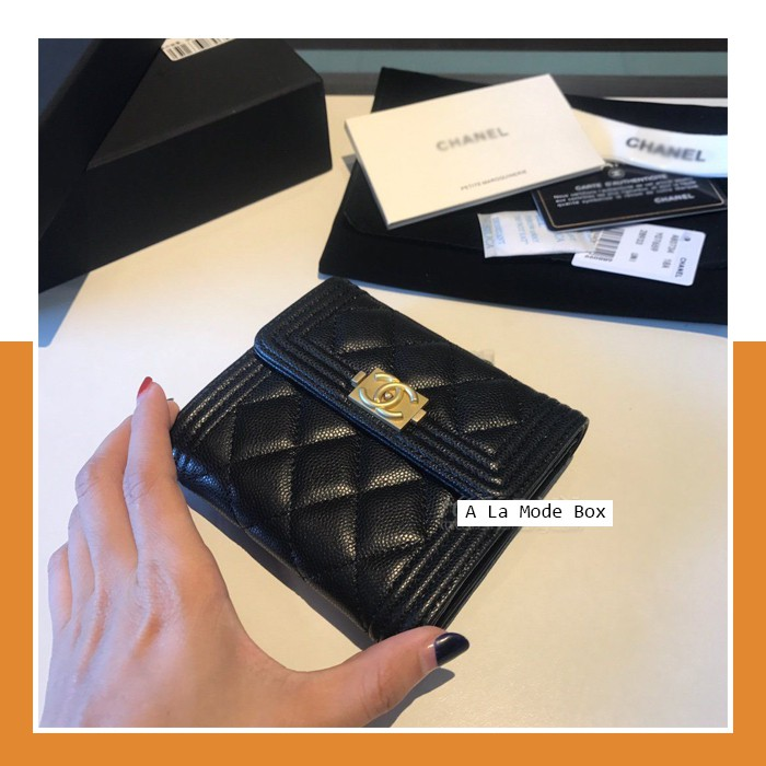 Boy Chanel Classic Flap Wallet