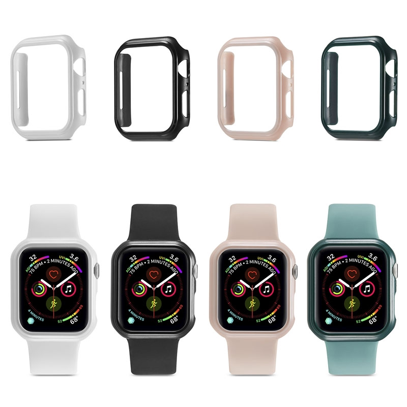 iWatch Protect Case Apple Watch Series 5 4 44mm 40mm Cover Matte PC Ultra-thin Protector Cover