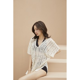 Swiminist Marine lace top