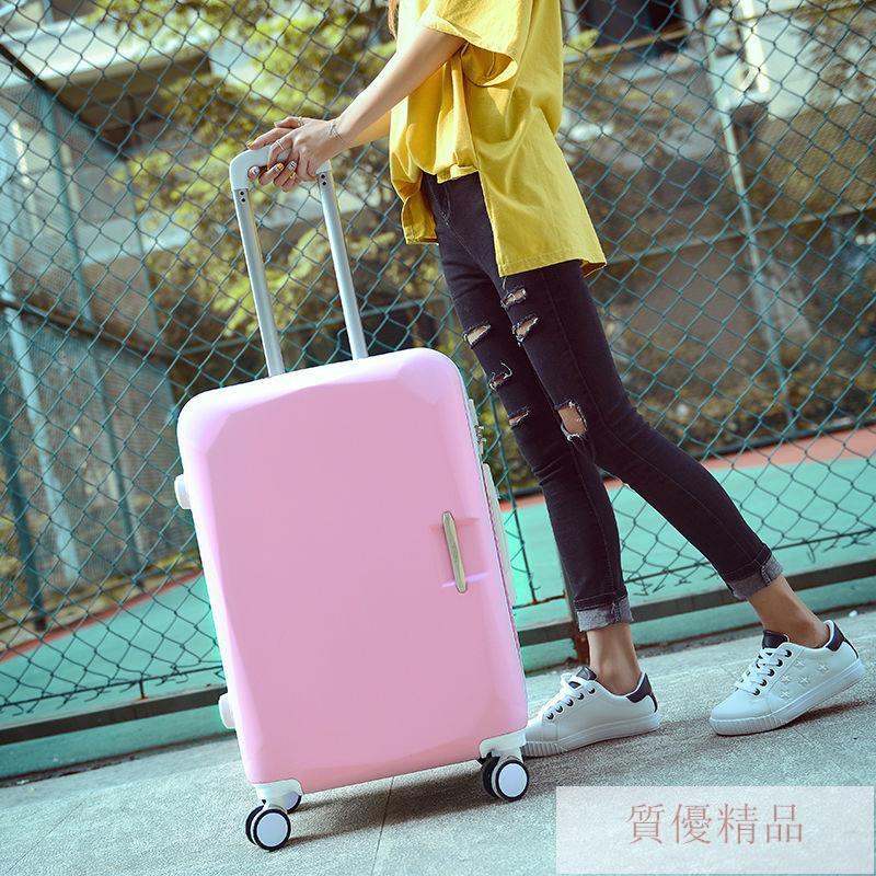 กระเป๋าเดินทางล้อลากขนาด 24 นิ้ว 26 นิ้วมีรหัสผ่านสําหรับผู้หญิง 20 นิ้ว