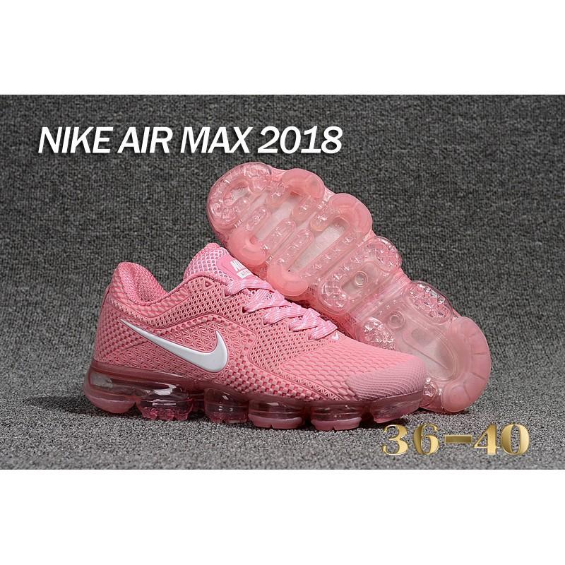 online retailer b804d d4016 ราคาดีที่สุด Nike Air VaporMax 2018.5 รองเท้าวิ่งสีชมพู / สี ...