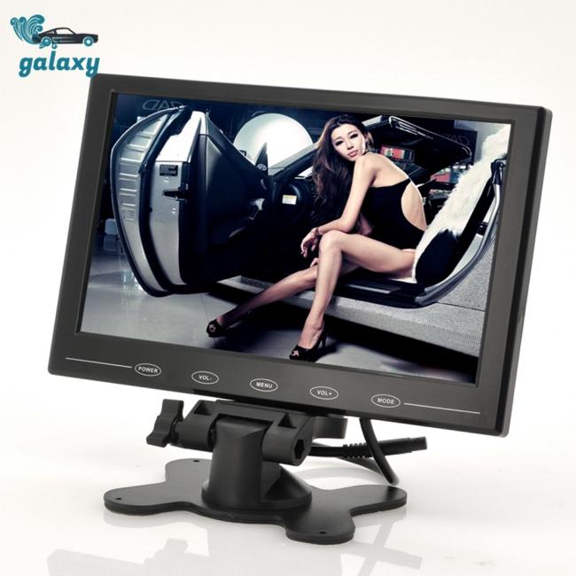 9 นิ้ว tft lcd monitor - in - thin design อุปกรณ์ขาตั้งสําหรับติดกับเบาะที่นั่งในรถยนต์ 800x480 ความละเอียด