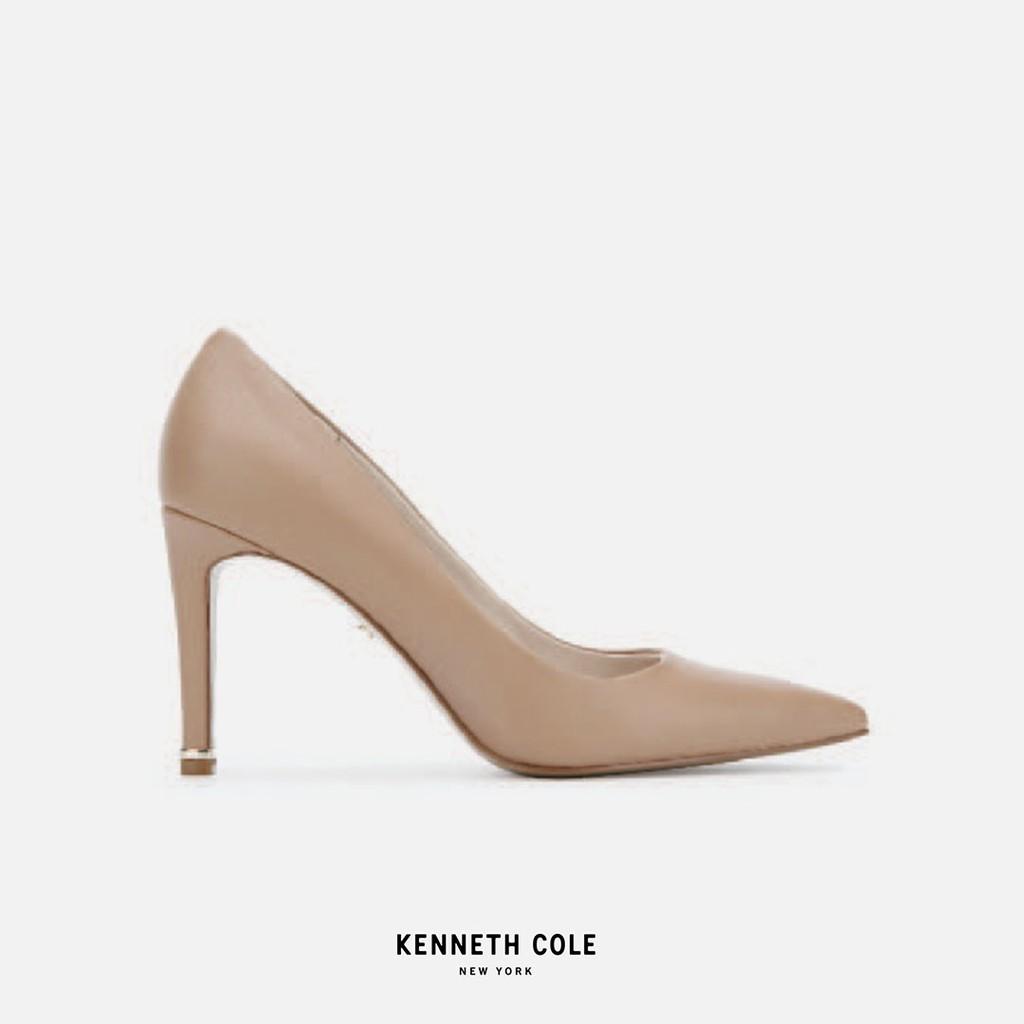 """Kenneth Cole รองเท้าทำงานทรงคัชชูส้นสูง """"REILEY 85 PUMP"""" สีน้ำตาลอ่อน"""