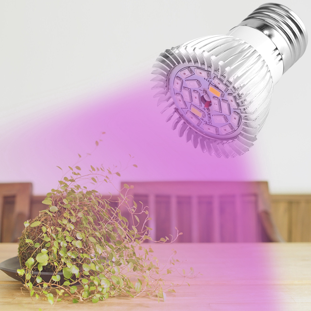 60W 2835 SMD LED Bulb Grow Light E27 Plant Flower Hydroponic Aquarium Greenhouse
