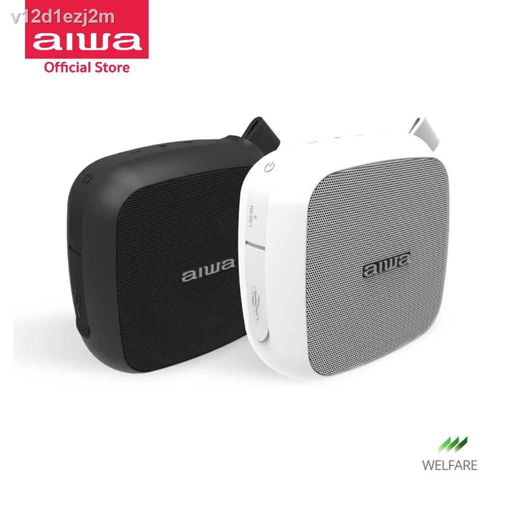 ลำโพงอัจฉริยะ、หม้อน้ำระบายความร้อนด้วยน้ำ cpu、เคสป้องกันชุดหูฟังบลูทู ธ✶✺AIWA SB-X10 Mini Bluetooth Speaker ลำโพงบลูท
