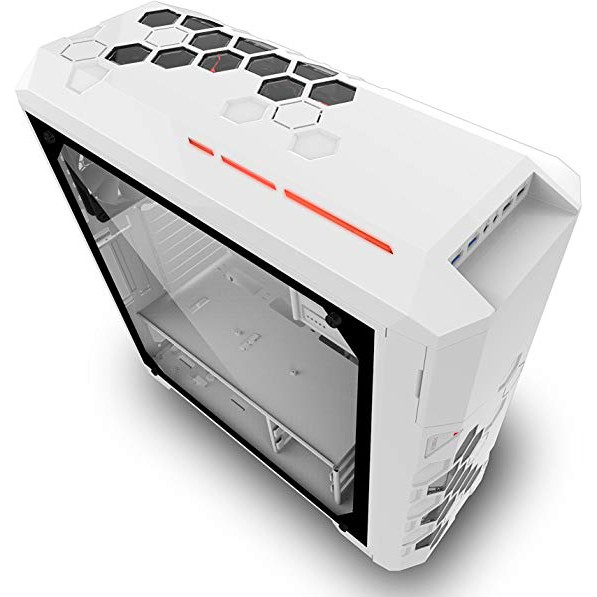 AZZA Storm 6000 WhiteFull Tower Tempered Glass RGB Gaming Computer Case