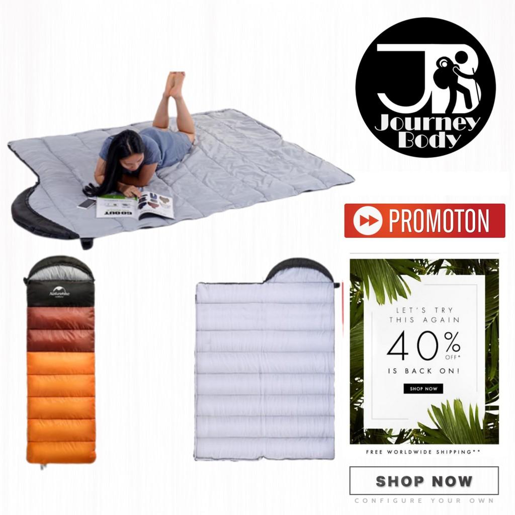 ถุงนอนผ้าฝ้าย NatureHike สำหรับตั้งแคมป์