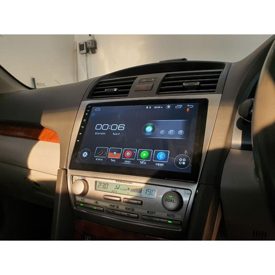 จอ Android Toyota Camry 2007-2011 ขนาด 10 นิ้ว Alpha Coustic Android 9 Ram 2 Rom 16