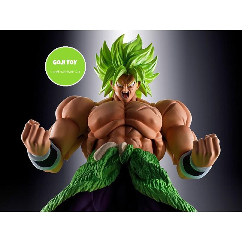(ของแท้) Dragonball Super S.H.Figuarts SHF Super Saiyan Broly Full Power Model Figure Dragon Ball โมเดล ฟิกเกอร์ โบรลี่