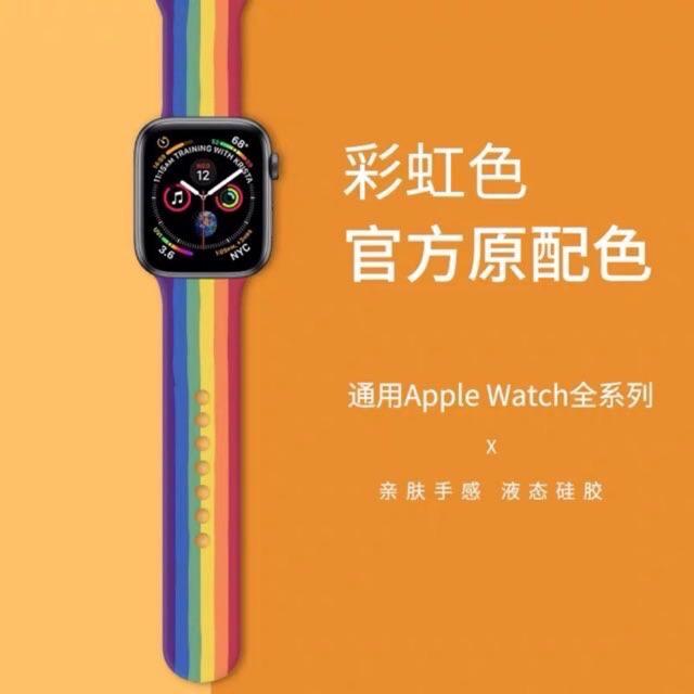 สายนาฬิกาApplewatch สายยาง AppleWatch สายนาฬิกา  ขนาด 38/40-42/44/