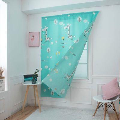 📣สินค้าพร้อมส่ง # ไม่เจาะม่านเวลโครสำเร็จรูปผ้าม่านตู้ผ้าบังแดดตกแต่งบ้าน