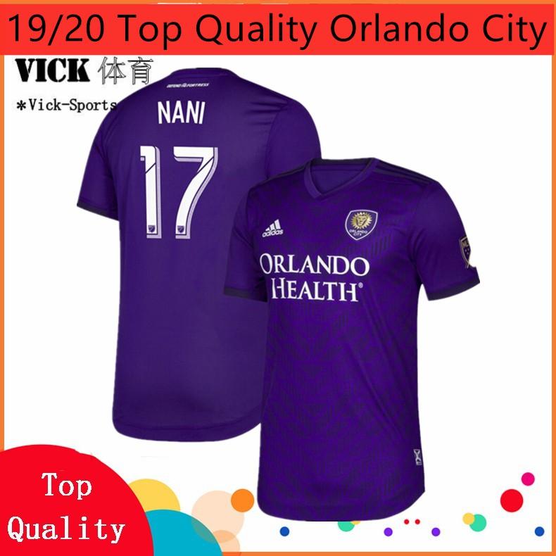 buy online 53685 3b9d6 2019/2020 ออร์แลนโดซิตี้ เสื้อฟุตบอล orlando City Home Away 3rd jersey  Training shirt Jersi (Ready Stock)