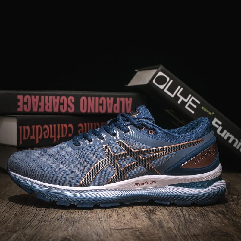 รองเท้าวิ่ง Asics Gel - Nimbus 22 100 % G 602 สําหรับผู้ชาย