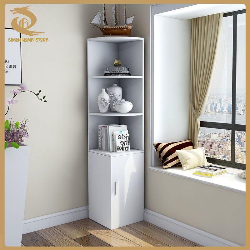 Living Room Corner Cabinet, Living Room Corner Shelf