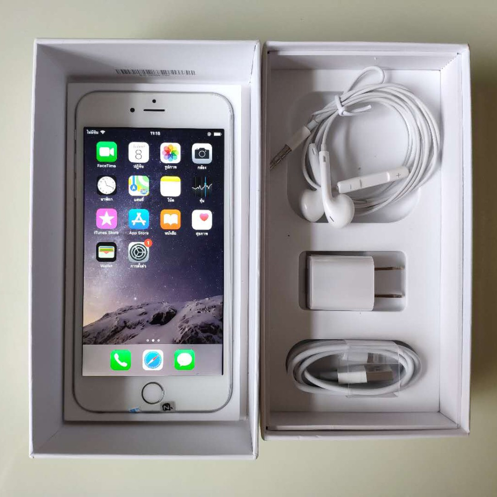 best sellerapple iphone6 plus ของแท้มือสอง Apple iPhone 6 Plus (128 GB || 64 GB || 16GB) ใหม่ 99%