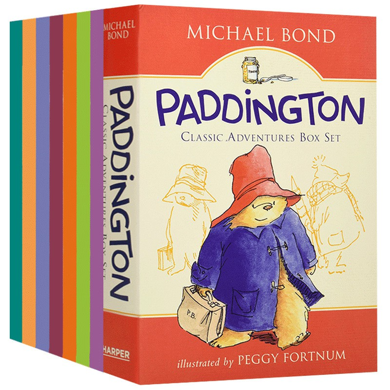 Patinton Bear Cap 10 Books หนังสือระบายสีสําหรับเด็ก