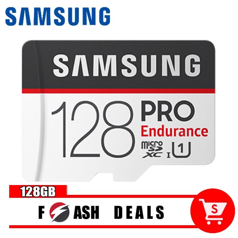 Samsung 128GB Memory Card SD card Micro SD+ SD Adapter การ์ดหน่วยความจำ HB18