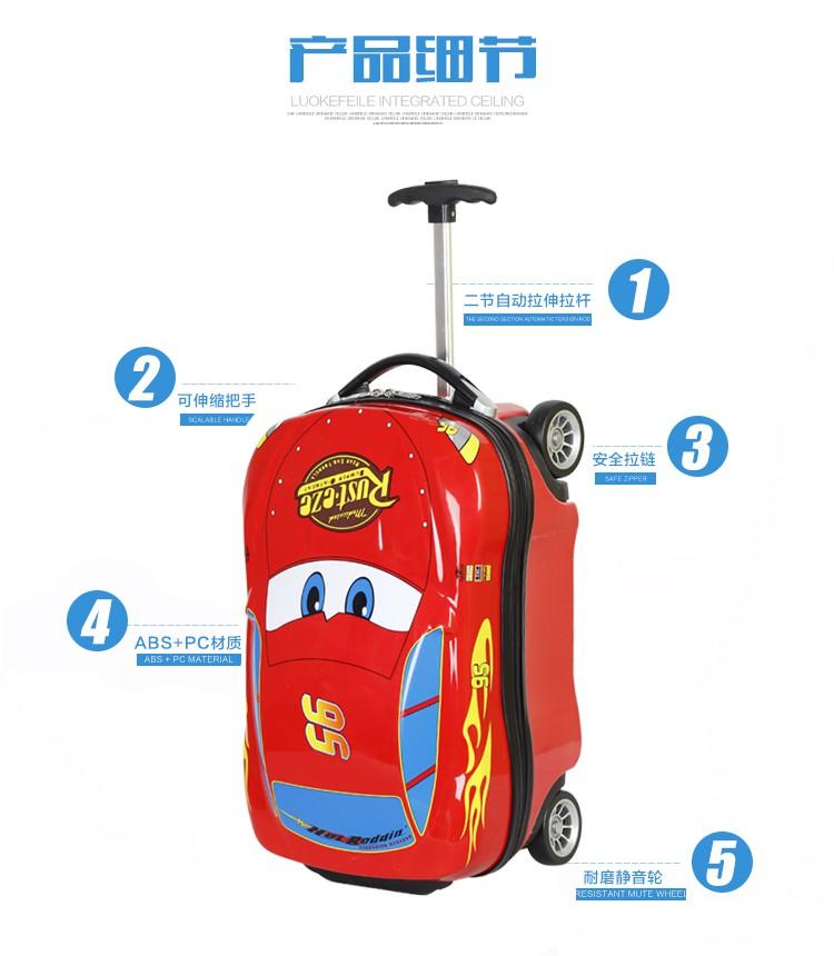 """""""▣ กระเป๋าเดินทางพกพา  กระเป๋ารถเข็นเดินทางกระเป๋าเดินทางเด็ก รถเข็นเด็ก McQueen รถเข็นเด็ก Bumblebee กระเป๋าเดินทางเด็ก"""