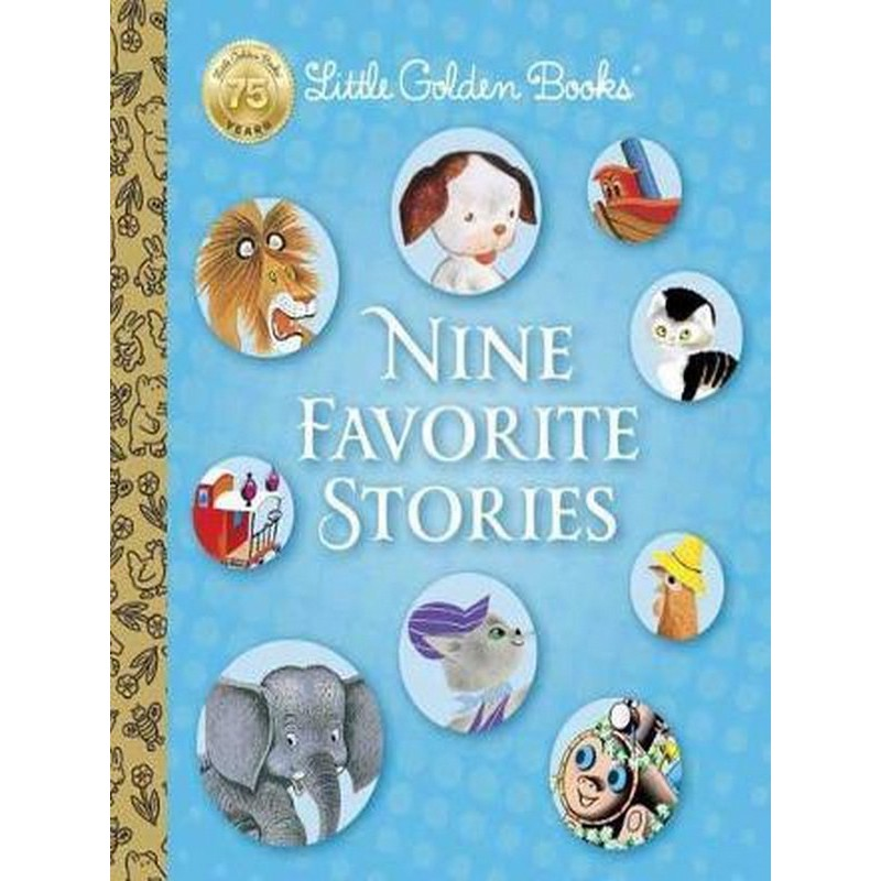 Asia Books หนังสือภาษาอังกฤษ LITTLE GOLDEN BOOKS NINE FAVORITE STORIES