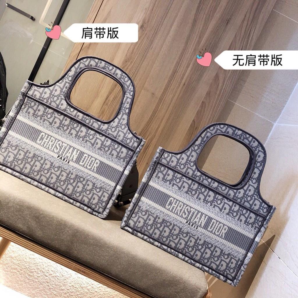 DIOR Book Tote bag 18 new DIOR vintage canvas bag presbyterie shopping bag for women bag DIOR shopping bag