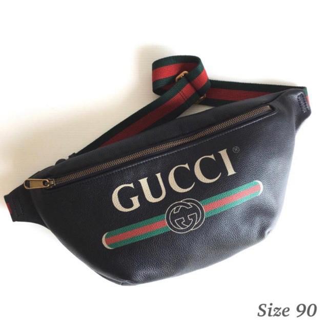 Gucci belt bag 90 พร้อมส่ง ของแท้ 100%【การจัดซื้อ】