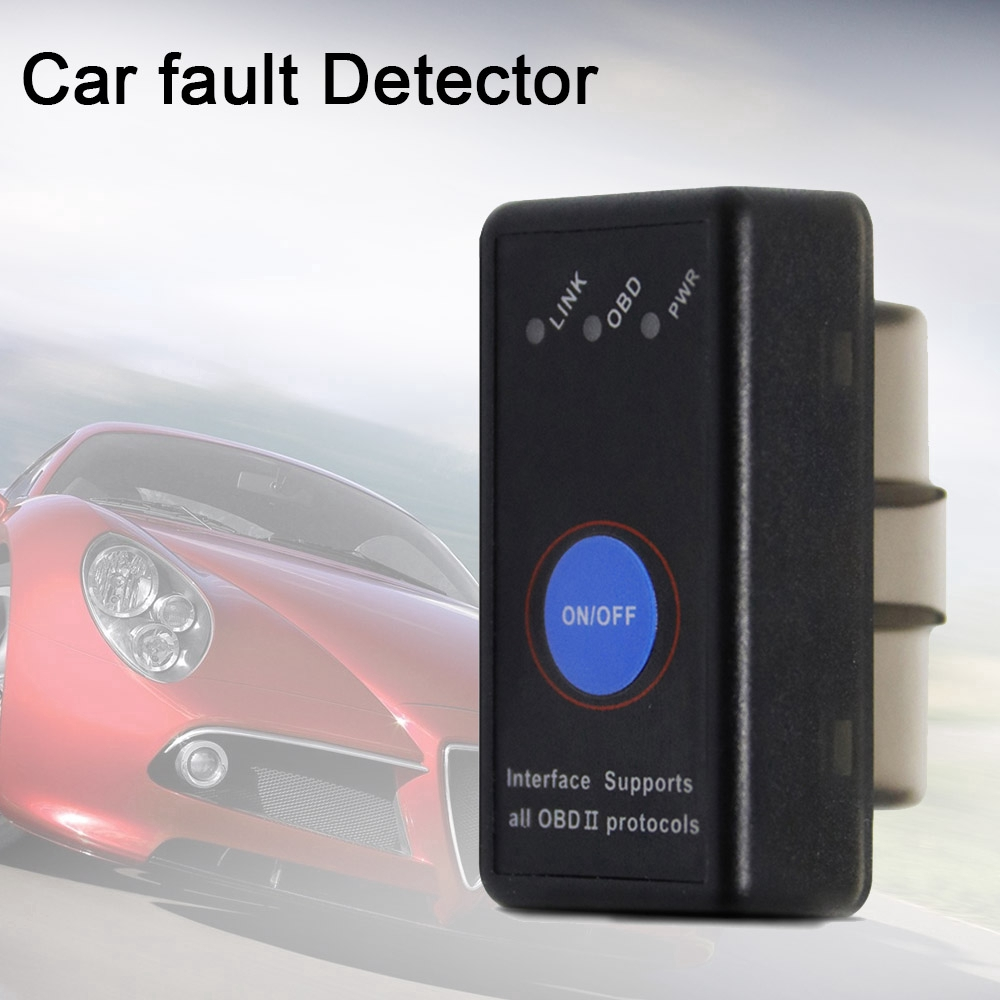 ELM327 V1.5 WIFI OBDII Auto Diagnostic Scanner Tool with Power Switch EL