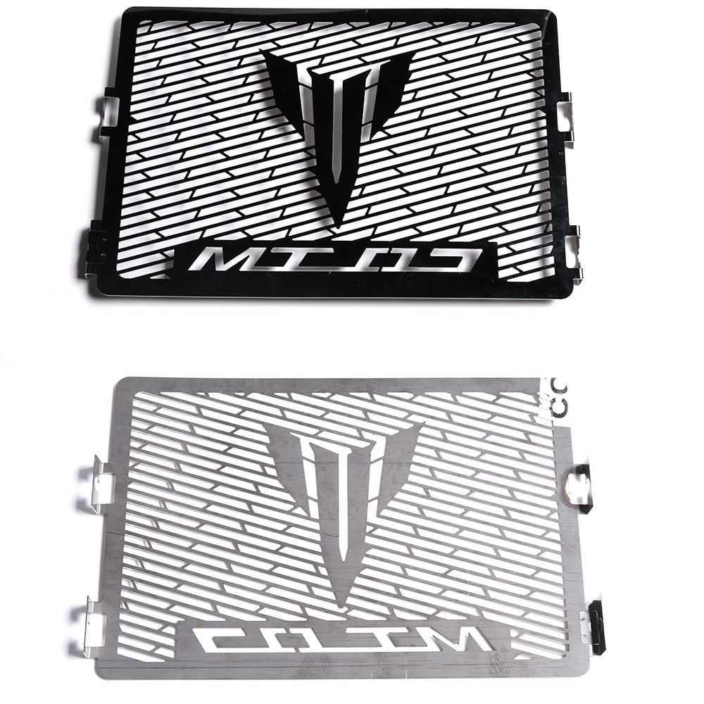 Stainless Steel Motor Radiator Grill Guard Cover Protection For Yamaha MT-07 All Years