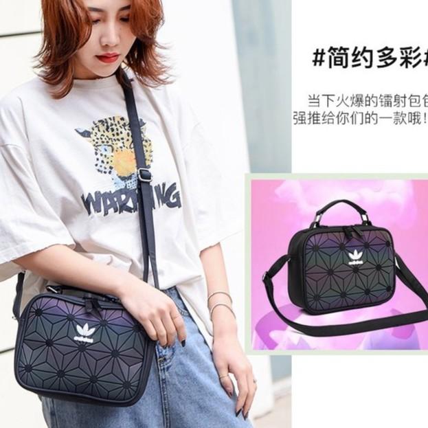 #Ready Stock# Adidas bag 3D X Issey Miyake Mini Airliner Sling Bag 5 colors jIdv