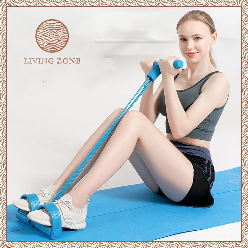 in กีฬาและกิจกรรมกลางแจ้งอุปกรณ์ฟิตเนสและออกกำลังกายอื่น◊▪﹊Living Zone  ยางยืดออกกำลังกาย อุปกรณ์กีฬาออกกำลังกายอเนกปร