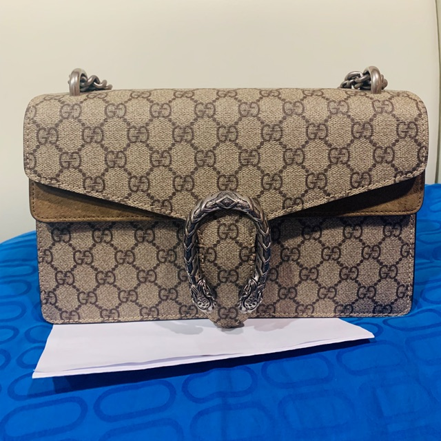 กระเป๋า Gucci dionysus small ปีก beige