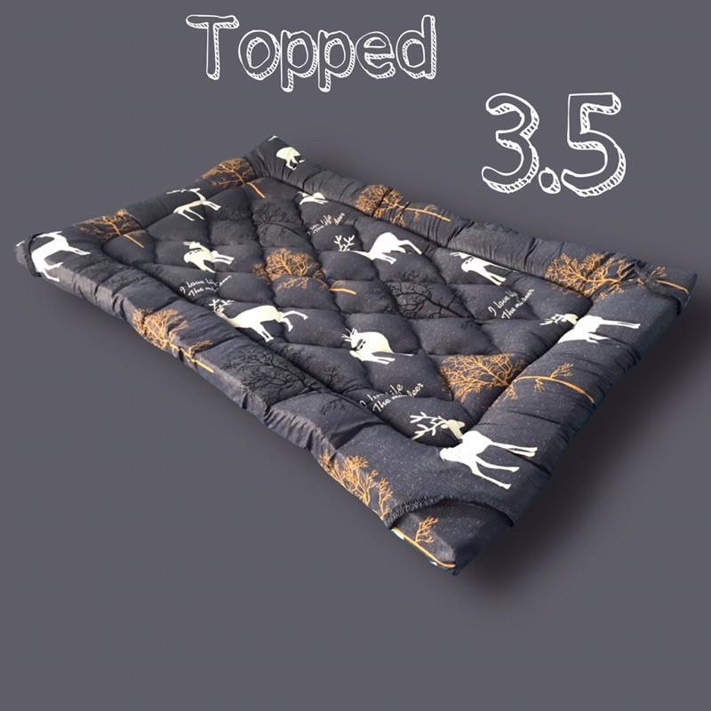 ท็อปเปอร์ 5 ฟุต ที่นอนท็อปเปอร์ 6ฟุต topper ที่นอนท็อปเปอร์ ท็อปเปอร์3.5ฟุตใยขนเทียม
