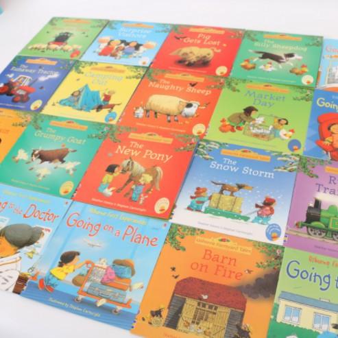 Usborne 20 Books First Experience Fairy Tale Boy Story Books Zl65