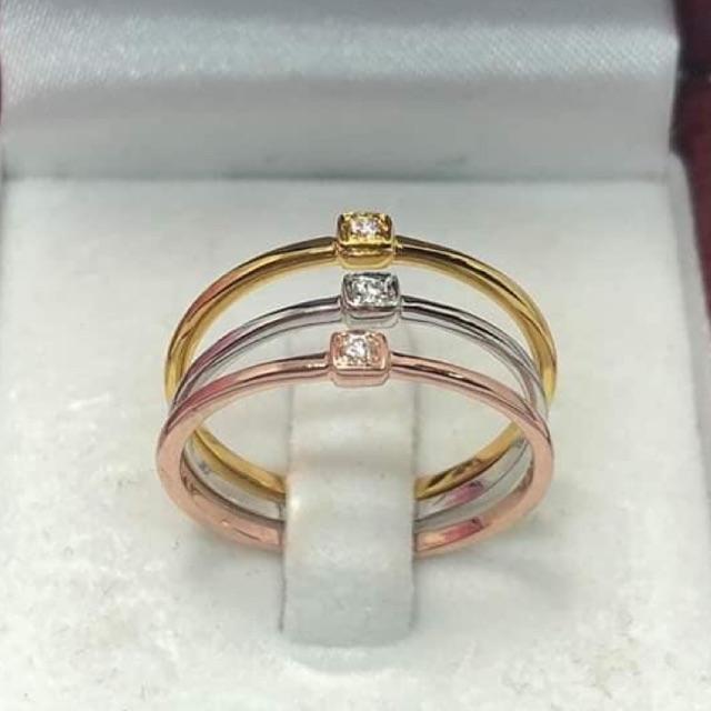 แหวนทองคำแท้าสวยๆราคาโรงงานทำเอง