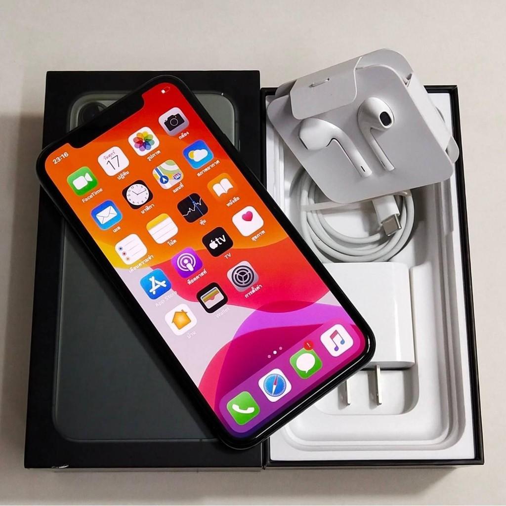 I phone 11 pro max 64 GBโมเดล TH ศูนย์ไทย มือสอง (รับผ่อนดาวน์แบบไม่ใช้บัตรเครดิต)
