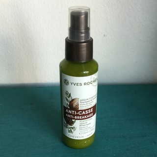 Review *SALE* 100.- หมดอายุ 10/2020 Yves Rocher Hair Repair Anti-Breakage Serum 100ml