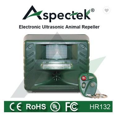 tech100k เครื่องไล่นก แก้ปัญหาได้ผลจริงAspectek HR132-B เครื่องไล่นก สุนัข แมว แมลง สัตว์อื่นๆ