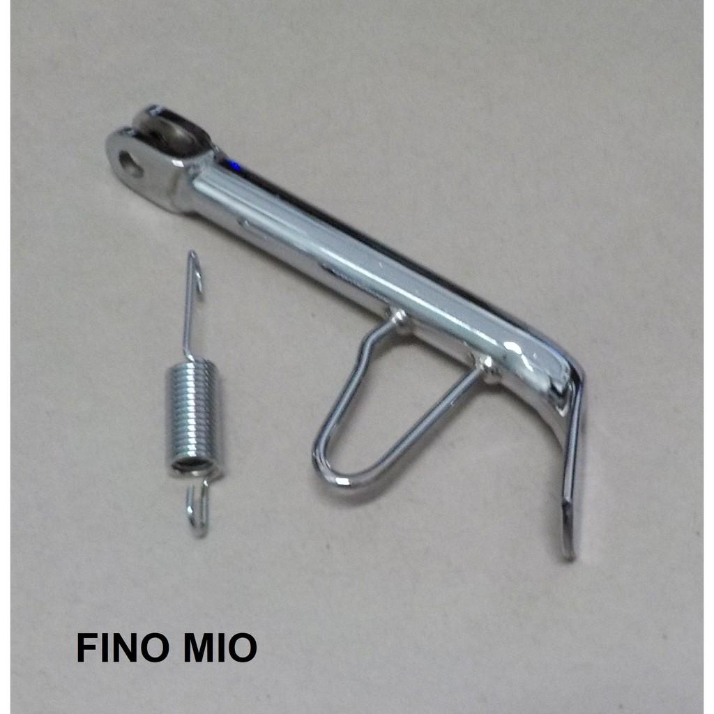ขาตั้งข้าง Fino Mio ชุบโครเมี่ยม ขาตั้งข้างเดิมชุบขอบ17 ขาตั้งข้างมีโอ ล้อขอบ17
