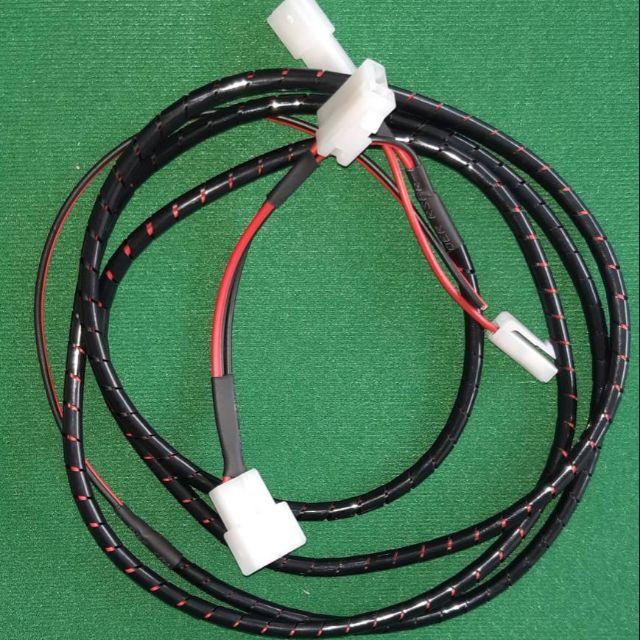 Y socket ranger  Bt 50 pro วายซอกเก็ต ปลั๊กต่อสายไฟรูกุญแจ ไฟรูกุญแจ ฟอร์ดเรนเจอร์ มาสด้า Bt50 proต่อตรงรุ่น 2.5 m
